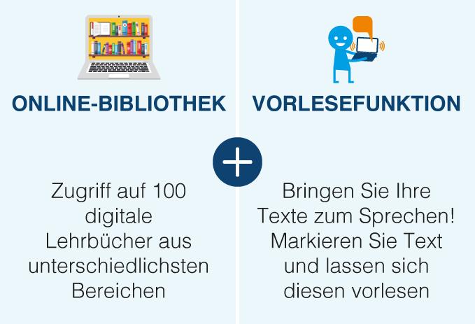 Laudius Online Bibliothek + Vorlesefunktion